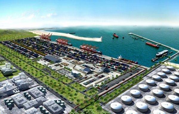 Bagamoyo port Plan