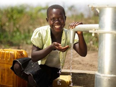 Clean water project in Moshi