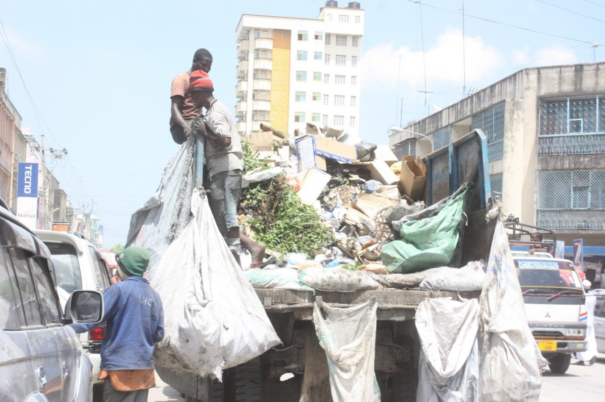 Tanzania clean up campaign