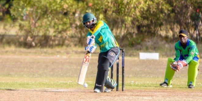Cricket players in Tanzania