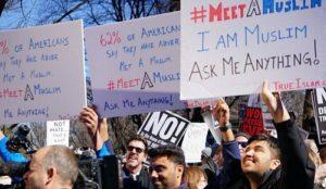 "University Muslim Student Associations combating ""Islamophobia"" through ""Meet a Muslim Day"""
