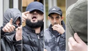 UK: Eight Muslims charged with raping and trafficking the same 15-year-ol... <a target=