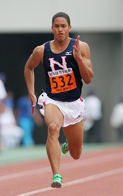 関東学生陸上男子100メートル決勝…:陸上短距離 ケンブリッジ飛鳥 写真特集:時事ドットコム