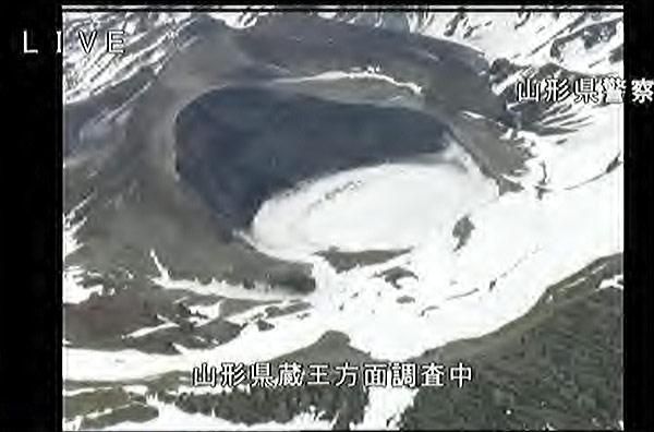 気象庁は4月13日午後、宮城・山形県境の蔵王山(1841メートル)で小規模な噴火が起きる可能性があるとして、火口周辺警…