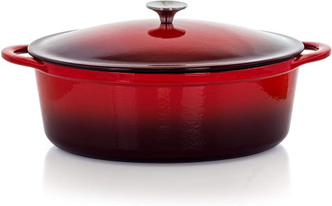 Enamel Megachef Casserole dish for hob and oven