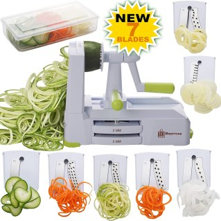 Vegetable Spiral Slicer, Best Veggie Pasta Spaghetti Maker for chips