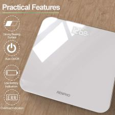 Accurate Body weight scale,Renpho Digital Bathroom scale.