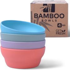 BPA free, healthy Bamboo Non toxic Dinnerware sets, lead and cadmium free
