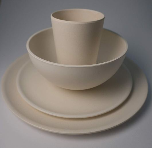 Unbreakable Bamboo Fiber Dinnerware safe Dish