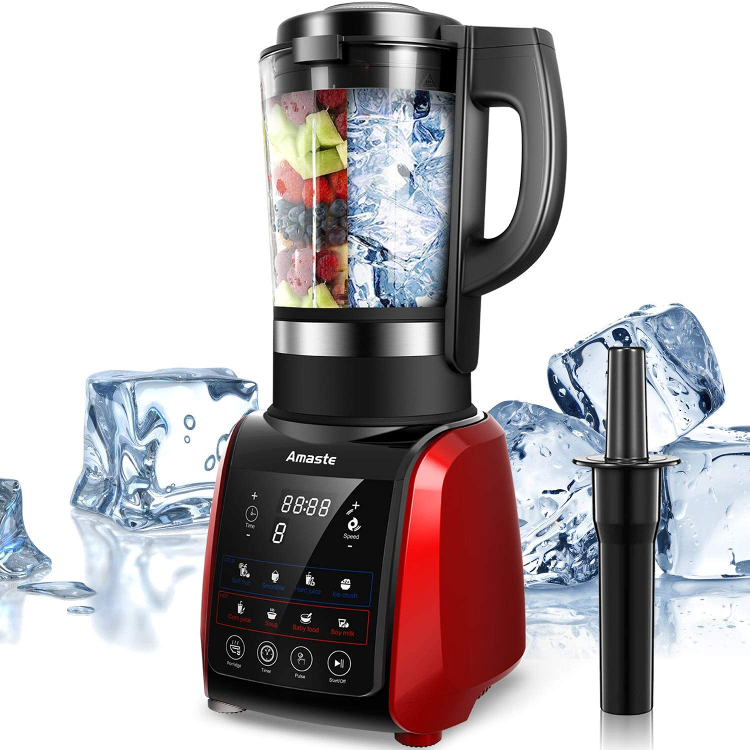 Amaste Countertop Blender for Smoothies, Shakes and Soup