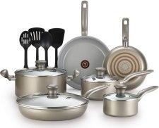 Ceramic vs aluminum pan toxic free cookware set