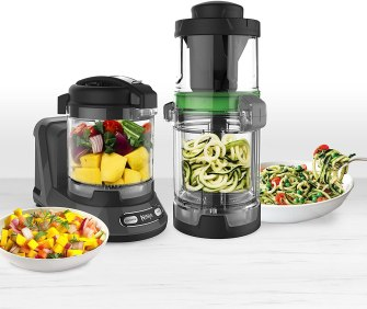 Ninja food processor for chopping, mixing, pureeing and dough