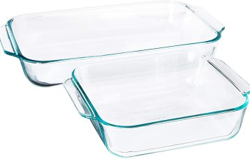 Pyrex glass Lasagna Baking dish
