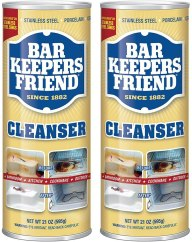 BarKeepers Friend Powder for Cleaning