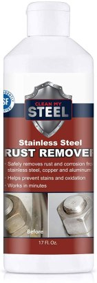 Stainless steel rust removal