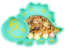 Best Silicone Suction toddler Plates that stick to table