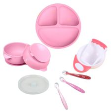 Toddler suction plate and bowl set