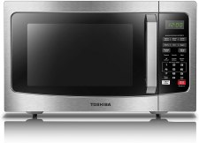 Best Microwave for Office break room - Toshiba Microwave oven with smart sensor