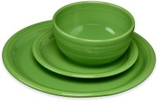 Bistro color fiesta shamrock dinnerware set