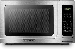 Black + Decker mini microwave for Bedroom