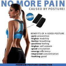 Posture corrector and straightener