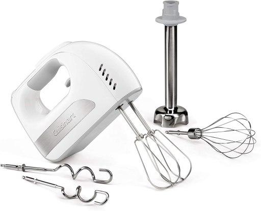 Cuisinart hand mixer with blending attachment