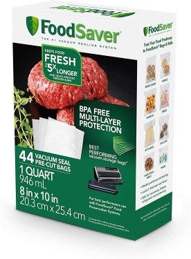 BPA free foodsaver vacuum sealer bags