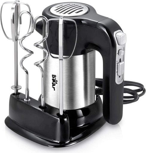 Bear Hand Mixer Electric for whipping cream, dough and cake