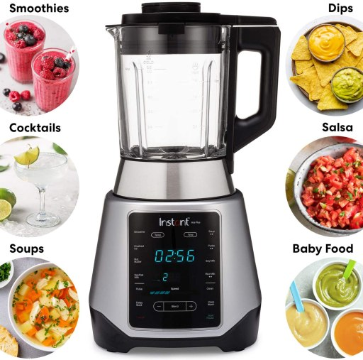 Instant Ace Plus Cooking Blender for blending tomatoes, vegetables, soups, salsa and smoothies.