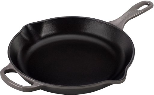 Overall best Le Creuset enameled cast iron skillet