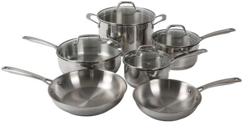 Othello stainless steel pots and pans