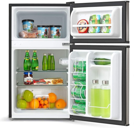 Compact Midea Home Appliance refrigerator as wedding gift for newly weds