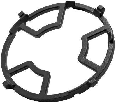 enamel vs cast iron pan supports