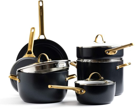 GreenPan Overall best pots and pans cookware set