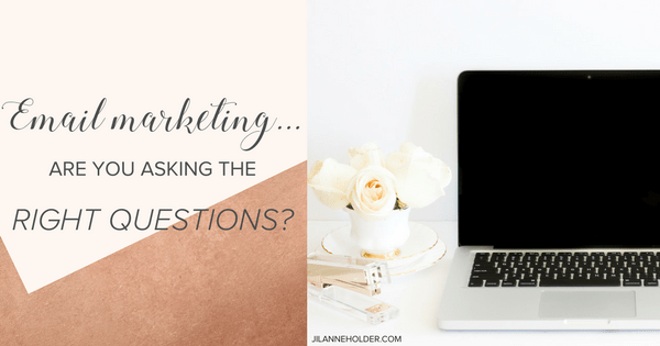 Email Marketing – Are you asking the right question?