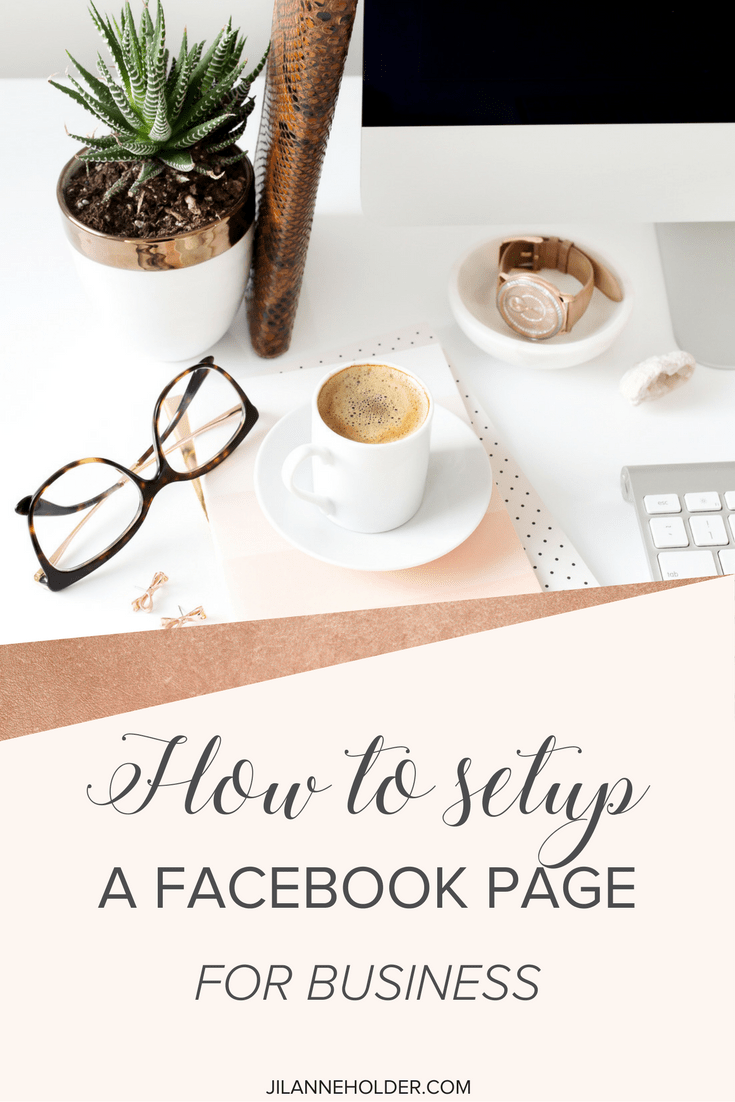 How to setup a facebook page for business