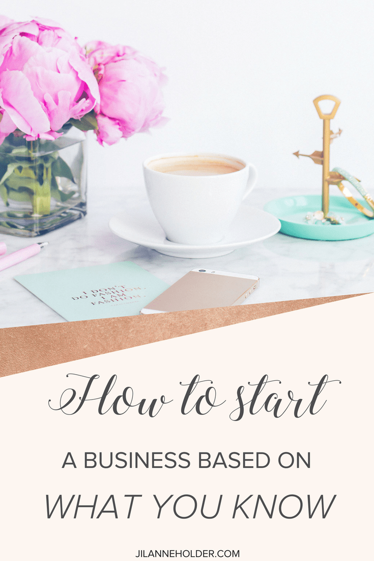 The key to running a successful business is to figure out what you're good at.  Where can you be most helpful and who should you be helping?  That's the most important question you should ask yourself. The best place to start is with what you know.