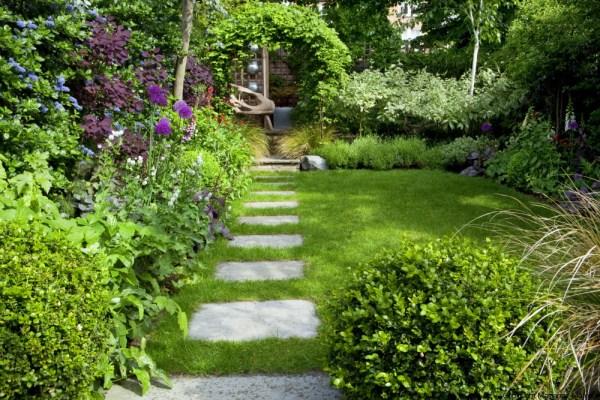 design garden small town Town Garden Design, Muswell Hill, London N10