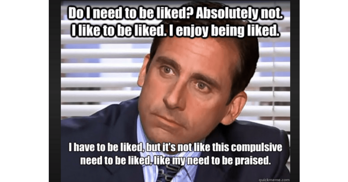 Image Result for Michael Scott Office - need to people please