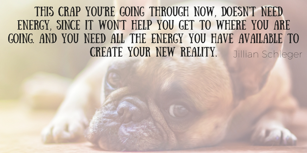 """<img src=""""puppy.jpg"""" alt=""""sad puppy with quote of where your energy should be focused on when in times of challenge"""">"""