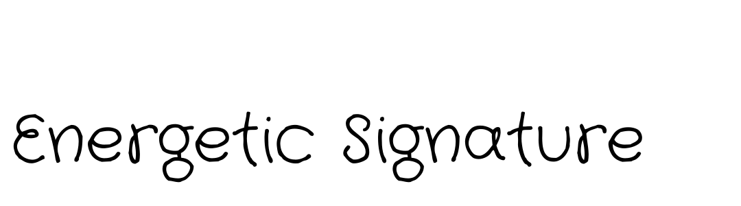 Energetic Signature teaser
