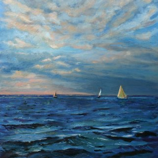 Marine Seascape by Jill Nichols