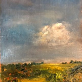 Jill Nichols Fine Art-Italy landscape painting demo