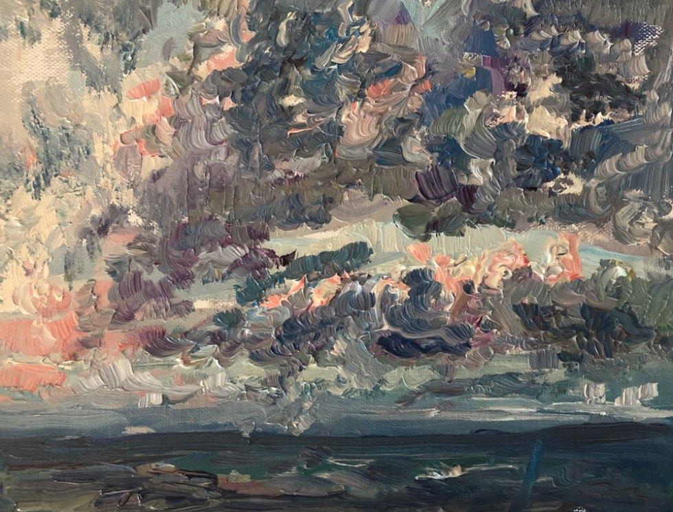 Jill Nichols Fine Art-Earthquake series no 3