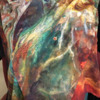 Vatican Art Italian silk scarf Phi