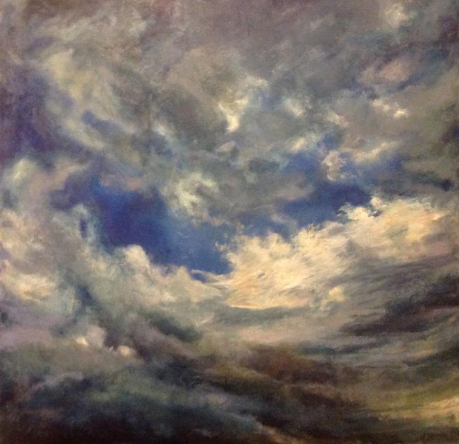Cloud painting by Jill Nichols
