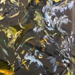 Flow no4 painting onMetal
