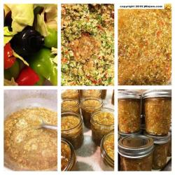 Southern Hot Chow Chow Relish