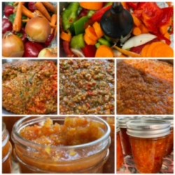 Carrot and Pepper Relish