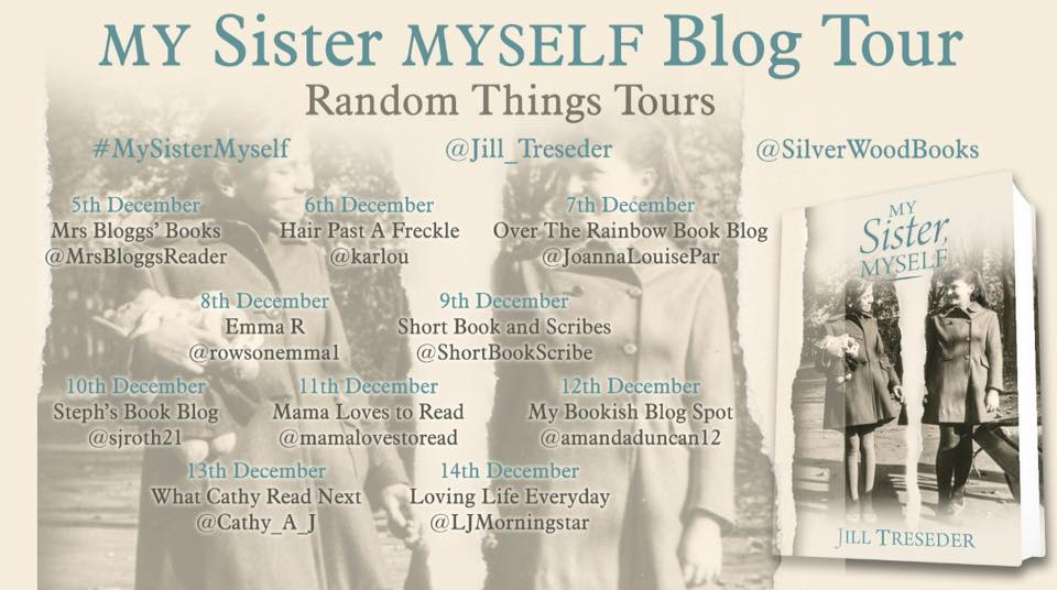 My Sister Myself by Jill Treseder - blog tour